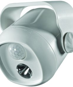 Acclaim Lighting(R) B200GR Motion-Activated LED Mini Spotlight (Dove Gray)