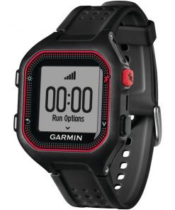 Garmin(R) 010-01353-00 Forerunner(R) 25 GPS Running Watch (Large; Black/Red)