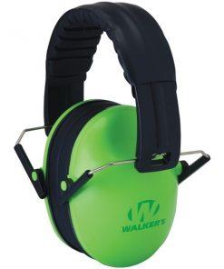 Walker's Game Ear(R) GWP-FKDM-LG Youth Folding Muff (Green)