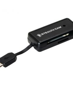 Stealth Cam(R) STC-SDCRAND Micro USB OTG Memory Card Reader for Android(TM) Devices