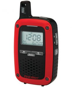 First Alert(R) SFA1135 Portable AM/FM Digital Weather Radio with SAME Weather Alert