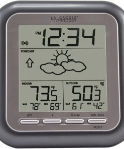 La Crosse Technology(R) WS-9133T-IT-CBP Titanium Wireless Forecast Station