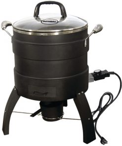 Butterball(R) 20100809 18lb-Capacity Electric Oil-Free Turkey Fryer