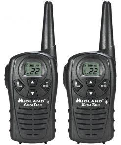 Midland(R) LXT118 18-Mile GMRS Radio Pair Pack
