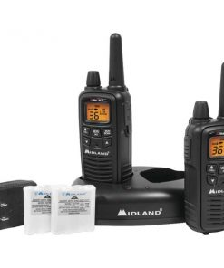 Midland(R) LXT600VP3 30-Mile GMRS Radio Pair Pack with Drop-in Charger & Rechargeable Batteries