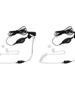 Motorola(R) 1518 2-Way Radio Accessory (2-Way Radio Surveillance Headset with PTT Microphone)