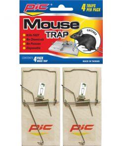 PIC(R) MTW4INN Wood Mouse Traps