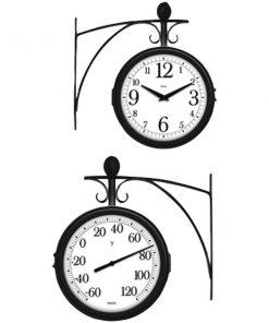 Springfield(R) Precision 91572 Station Thermometer & Clock