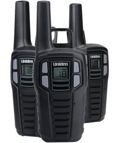Uniden(R) SX167-3CH 16-Mile 2-Way FRS/GMRS Radios (3 pk; with 9 batteries)