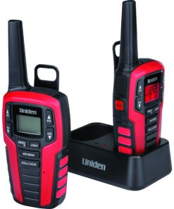 Uniden(R) SX327-2CKHS 32-Mile 2-Way FRS/GMRS Radios (Headsets)
