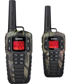 Uniden(R) SX377-2CKHSM 37-Mile 2-Way FRS/GMRS Radios (Camo)