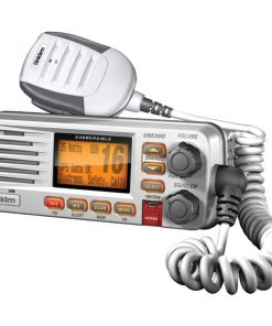 Uniden(R) UM380 Fixed Mount VHF/2-Way Marine Radio (White)